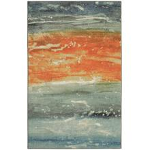 Abstract Seascape, Blue- Rectangle