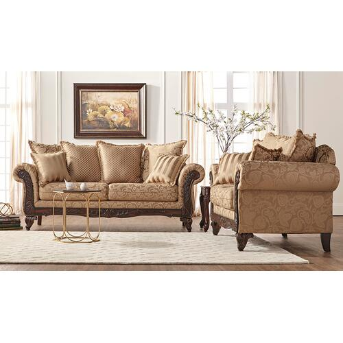 Hughes Furniture - 7650 Loveseat