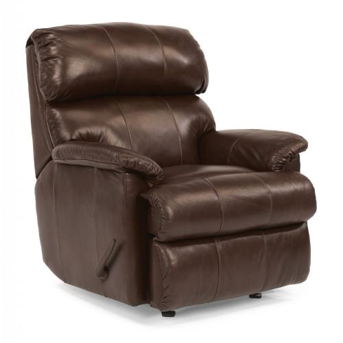 Product Image - Chicago Leather Swivel Gliding Recliner