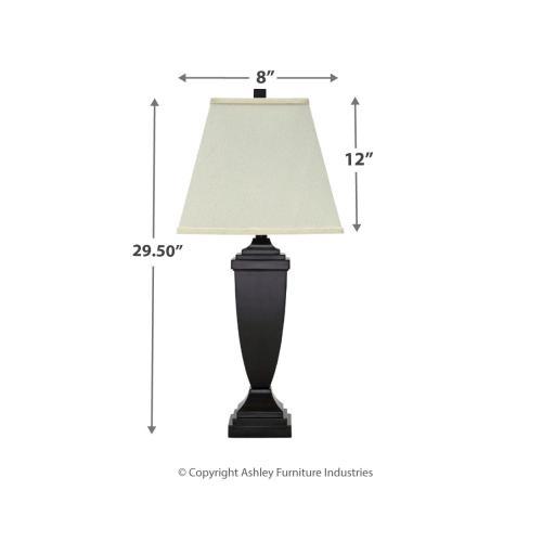Signature Design By Ashley - Amerigin Table Lamp (set of 2)