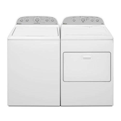 5.9 Cu. Ft. Front Load Gas Dryer With Flat Back Design