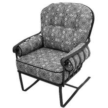 See Details - Athens High Back Spring Chair