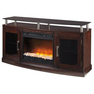"""See Details - Chanceen 60"""" TV Stand With Electric Fireplace"""