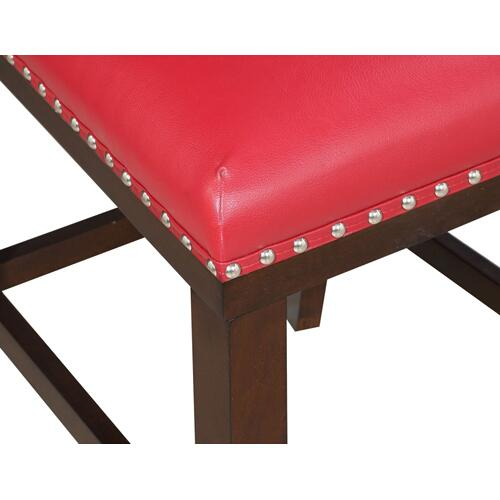 Tiffany KD Counter Chair, Red