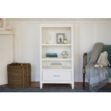 See Details - Warm White Darlington Bookcase