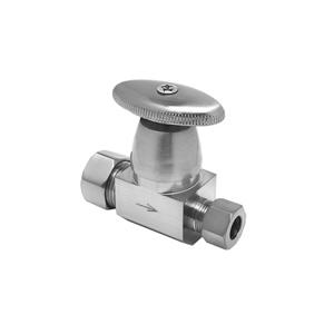 Oval Handle Angle and Straight Valves