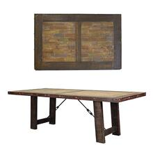 Las Piedras 6' Table W/Painted Wood DISCONTINUED