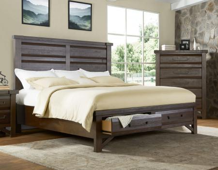 Timber King Bed
