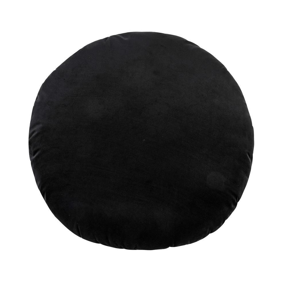 "Potter 20"" Black Velvet Pillow"
