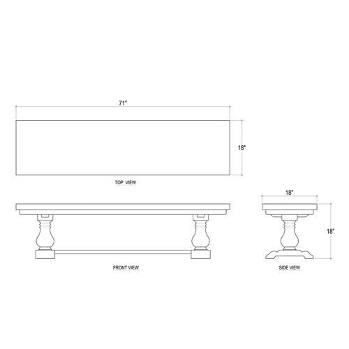 Bayside Bench