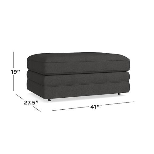 Bone Aiden Storage Ottoman