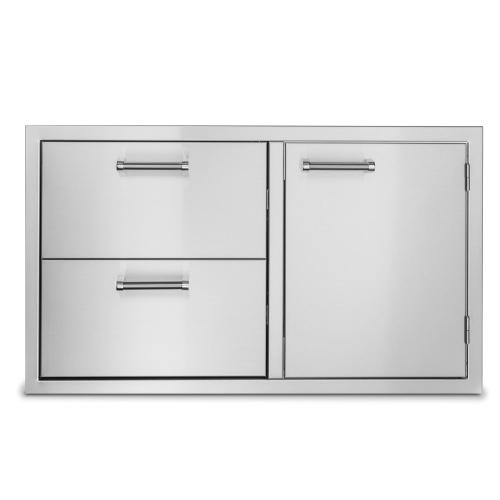 """Viking - 36"""" Double Drawer and Access Door Combo - VOADDR5361SS"""