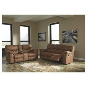 Boxberg Reclining Sofa & Console Loveseat Bark