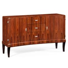 Art Deco Curved Sideboard for Stainless Steel (High Lustre)