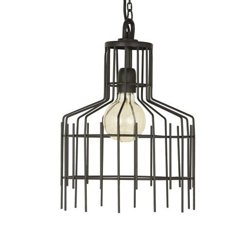 Crestview Collections - Large Brynn Modern Industrial Pendant
