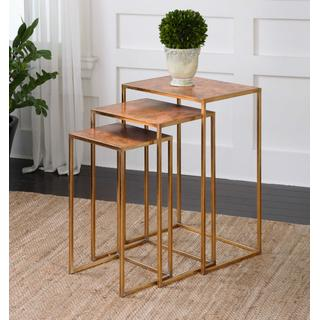 See Details - Copres Nesting Tables, S/3