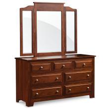 See Details - Homestead 7-Drawer Dresser, 69 'w x 21 'd x 33 'h