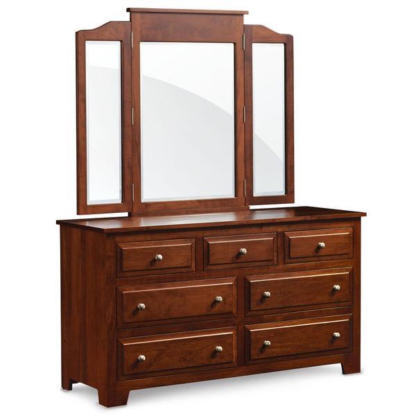 See Details - Homestead 7-Drawer Dresser, 58'w x 21 'd x 32 'h