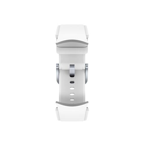 Samsung - Galaxy Watch4, Galaxy Watch4 Classic Ridge-Sport Band, M/L, White