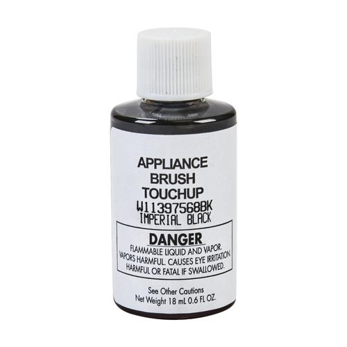 KitchenAid - Appliance Touchup Paint Bottle, Imperial Black - Other