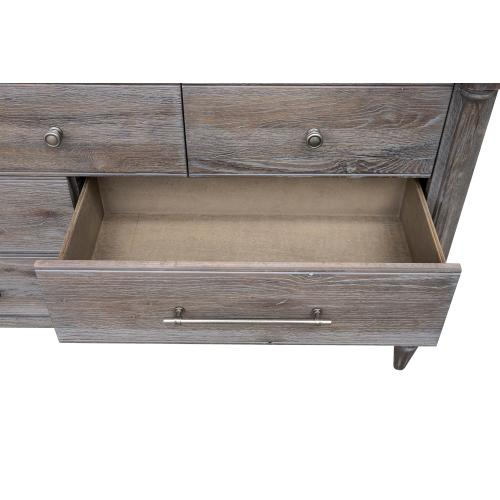 Dresser with Mirror - Fawn Collection