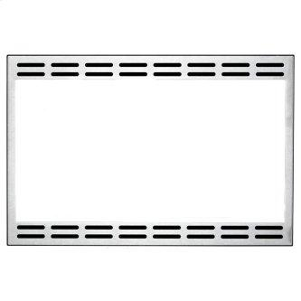 """GE 24"""" Optional Trim Kit for Microwave Stainless Steel JX1124STC"""