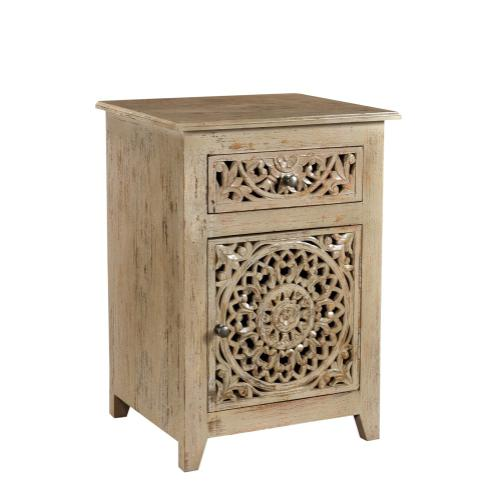 Product Image - Bengal Manor Distressed Grey Cabinet