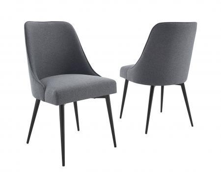 Colfax Side Chair Charcoal