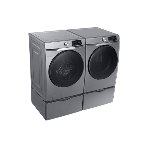 7.5 Cu.Ft. Electric Dryer with Steam Sanitize+ in Platinum