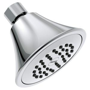 "Moen chrome one-function 3.75"" diameter spray head standard Product Image"