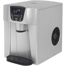 See Details - Compact Ice Maker with Water Dispenser