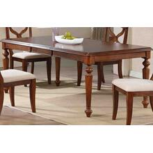 Butterfly Leaf Dining Table - Chestnut Finish