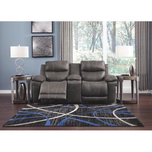 Erlangen Power Reclining Loveseat With Console