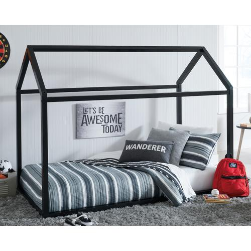 Flannibrook Twin House Bed Frame