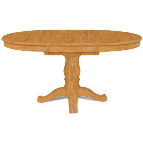 42'' Butterfly Leaf table with 8'' Pedestal for Extension Table tops