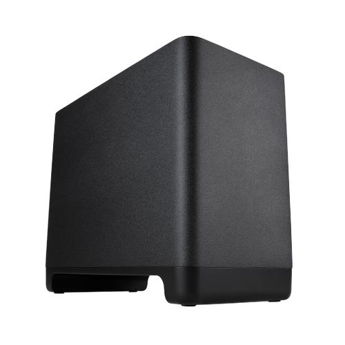 Deep, impactful bass for Polk React series sound bars in Black