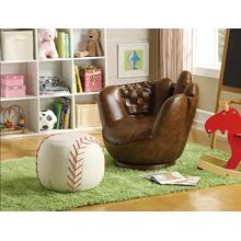 Crown Mark 7005 Baseball Glove Chair