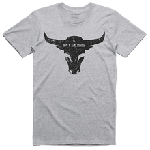 Men's Grey Heather Bull T-Shirt