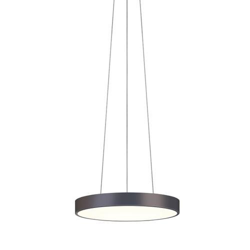 "Sonneman - A Way of Light - Pi LED Pendant [Size=16"", Color/Finish=Black Bronze]"