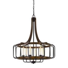 View Product - Kellia 60W X 6 Metal Chandelier (Edison Bulbs Not included)