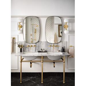 Colinet brushed gold towel bar