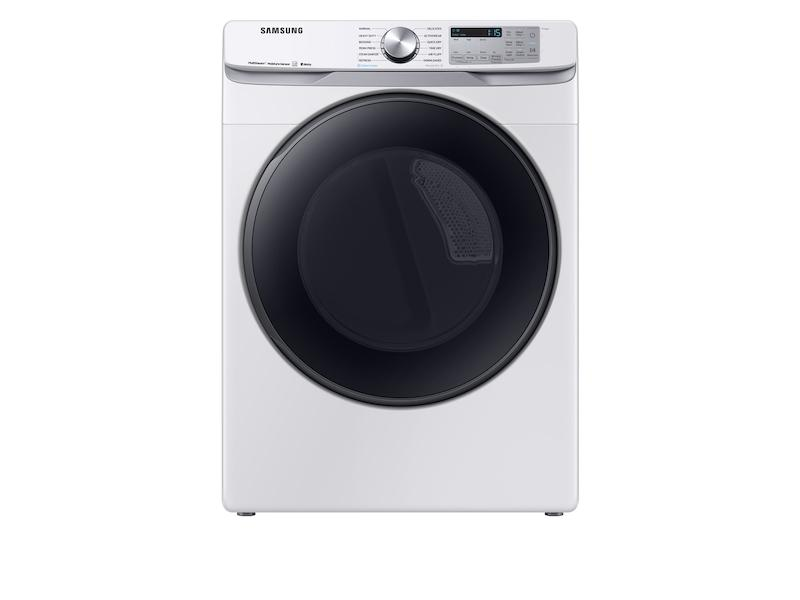 Samsung7.5 Cu. Ft. Smart Electric Dryer With Steam Sanitize+ In White