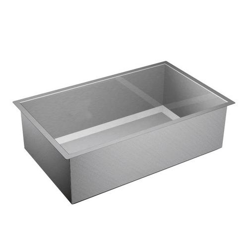 "1600 Series 32""x20"" stainless steel 16 gauge single bowl sink"