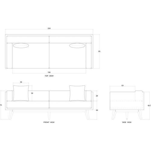 Gallery - Madera Sofa