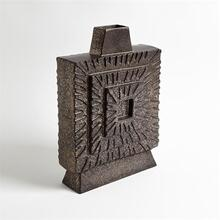 Artisan Square Vase-Bronze-Sm