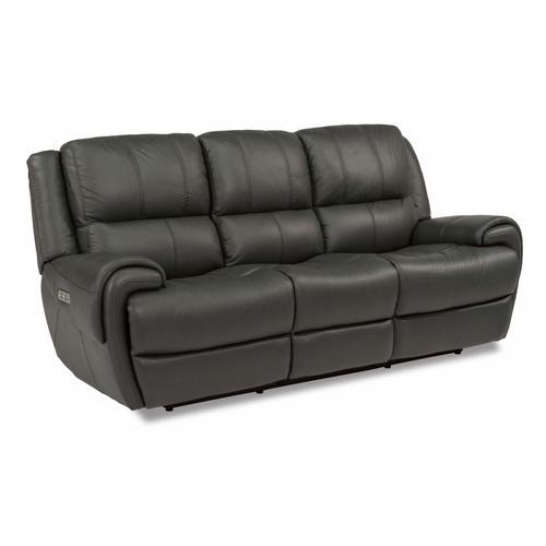 Flexsteel - Nance Power Reclining Sofa with Power Headrests