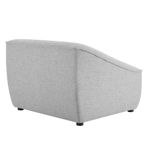 Comprise Armchair in Light Gray