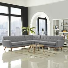 See Details - Engage L-Shaped Sectional Sofa in Expectation Gray