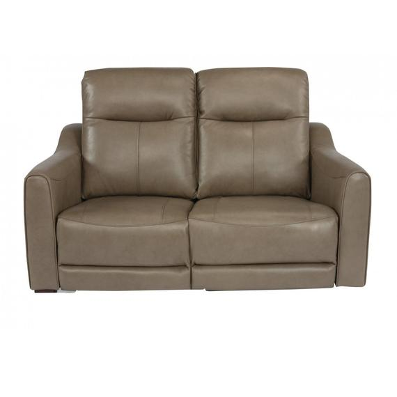 Forte Power Reclining Loveseat with Power Headrests