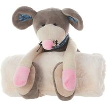 "Plushlines N0605 Grey 7"" X 17"" Plush Animal"